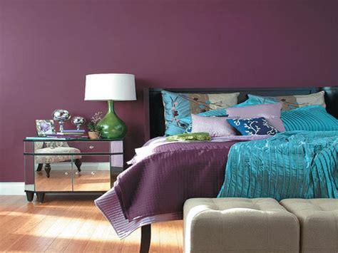 dark purple wall color  bedroom wall color purple