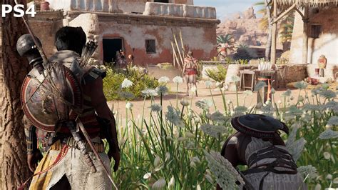 assassins creed origins ps  ps pro comparison