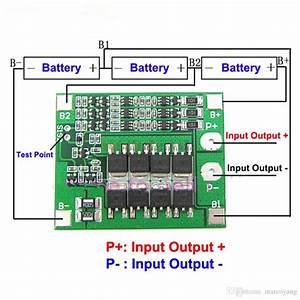 3s 25a 12v Lithium Battery Charger Protection Board Module