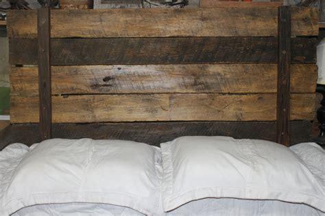 rustic wood headboard rustic headboard