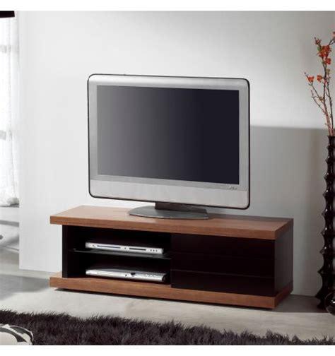 meuble tv noyer laqu 233 noir mobilier
