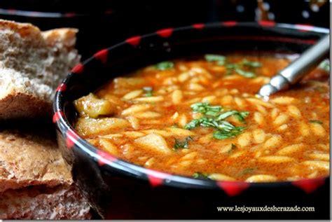 cuisine algeroise traditionnelle chorba algérienne aux langues d 39 oiseaux les joyaux de