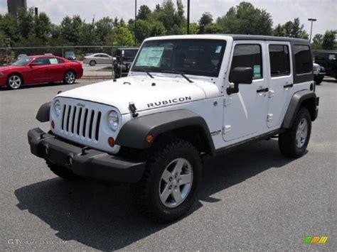 jeep rubicon white sport 2011 bright white jeep wrangler unlimited rubicon 4x4
