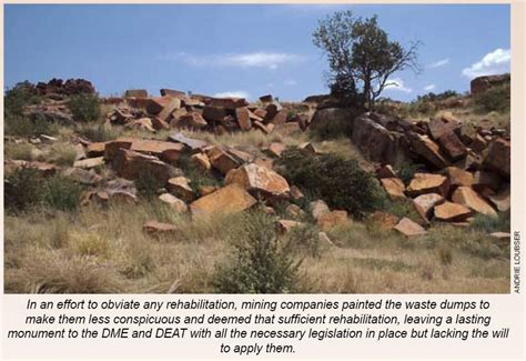 granite mining years of plunder condoned by dme