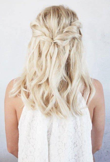 coiffure pour mariage invité a faire soi meme coiffure mariage cheveux invit 233 coiffure simple et