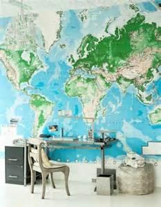 le bureau carte le poster carte du monde géante vous donne envie à voyager