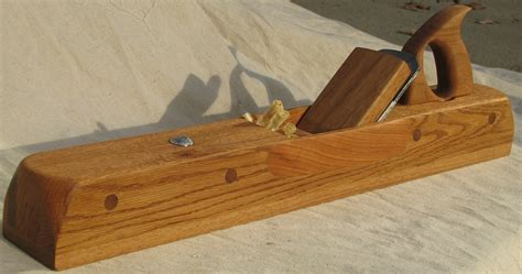 pats wooden jointer plane  wood whisperer