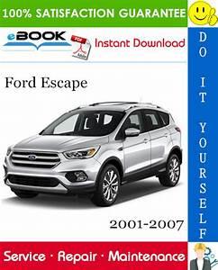 Ford Escape Service Repair Manual 2001