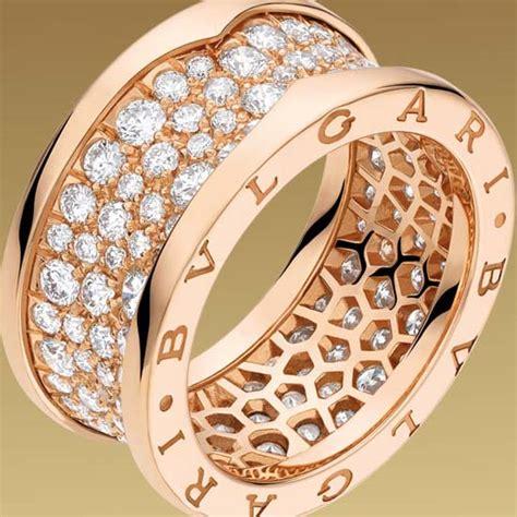 bvlgari bzero1 3 band 18k yellow gold ring size bulgari ring ring bulgari astrale ringgold 点力图库