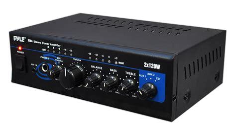 Pyle Home Pta4 Mini 2x120 Watt Stereo Power