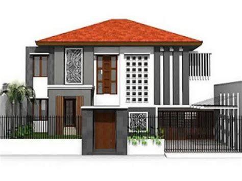 Dengan komposisi warna yang pas dan seimbang, rumah yang desainnya menarik akan terlihat makin bagus lagi. Pilihan Contoh Warna Cat Rumah Bagian Depan | Rumah ...