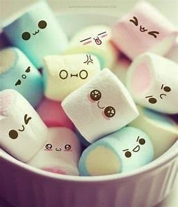 Cute marshmallows :) | Cute marshmallows, Cute wallpapers ...