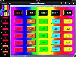 Printable Jeopardy Keynote