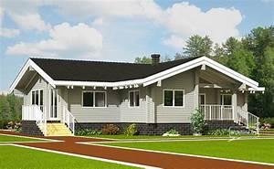 Casa Di Legno Lamellare In Stile Nord