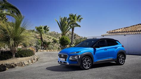 hyundai kona hybrid 2019 4k wallpaper hd car wallpapers