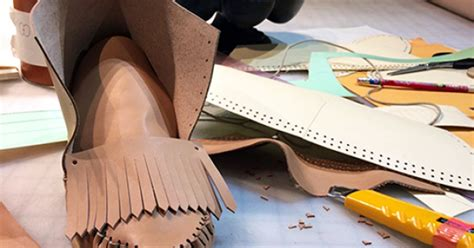 handsewn moccasin making leather classes  york