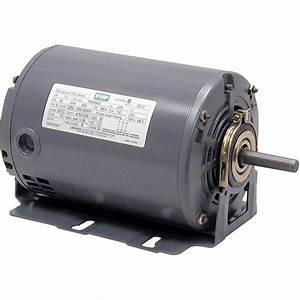 Leeson Fan And Blower Electric Motor  U2014 1  3 Hp  1725 Rpm  115 Volts  Split Phase  Model  102890