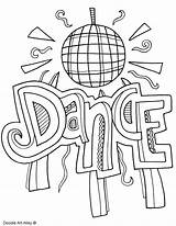 Coloring Pages Dancing Subject Dance Colouring Arts Ballroom Subjects Doodles Printables Template Printable Doodle English Classroomdoodles Quotes Binder Alley Classroom sketch template