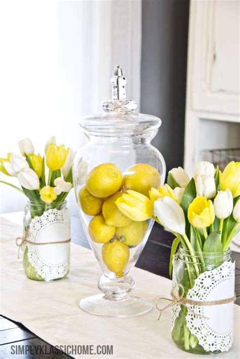 easy centerpieces how to create an easy spring centerpiece on the cheap yellow bliss road