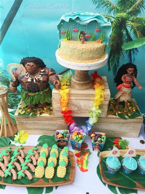 moana birthday party ideas photo 3 of 11 catch my party