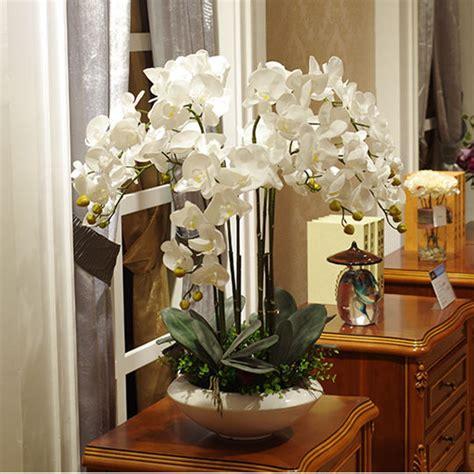 artificial orchid flower arrangement bonsai flower