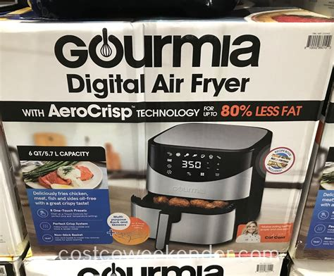 fryer air gourmia costco digital crispy grease foods enjoy without