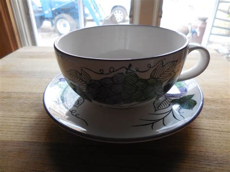 Cost of coffee in 1940: Vintage 1960s to 1970s Huge/Large Cup and Saucer White ...