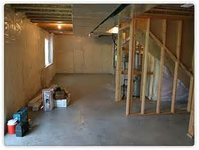 Basement Finishing Before and After