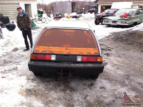 1986 Honda Civic Crx Dx Hatch Back Wagon 2dr 4 Speed Manual