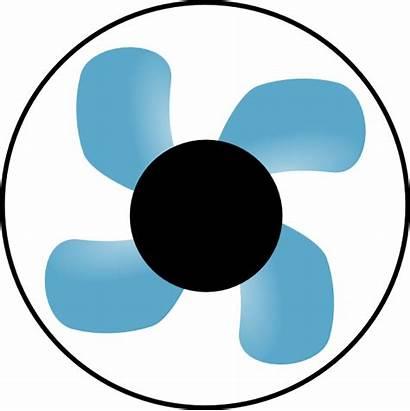 Fan Clip Clipart Center Clker Vector Cliparts