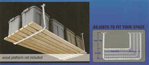 hyloft ceiling storage 60x45 hyloft 80842 10 adjustable ceiling kit