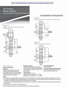 55 New 3 Phase Motor Starter Wiring Diagram Pdf