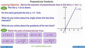 How Do You Find The Slope Of A Line Perpendicular To An