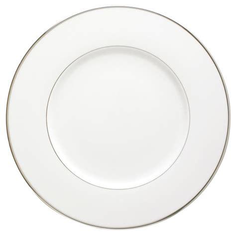 assiette de présentation assiette de pr 233 sentation ronde en porcelaine galon platine