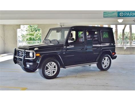 2011 Mercedesbenz Gclass 4 Door G Wagon Suv Suvs