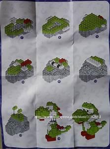 Loz Diamond Blocks Nanoblocks Instruction Yoshi