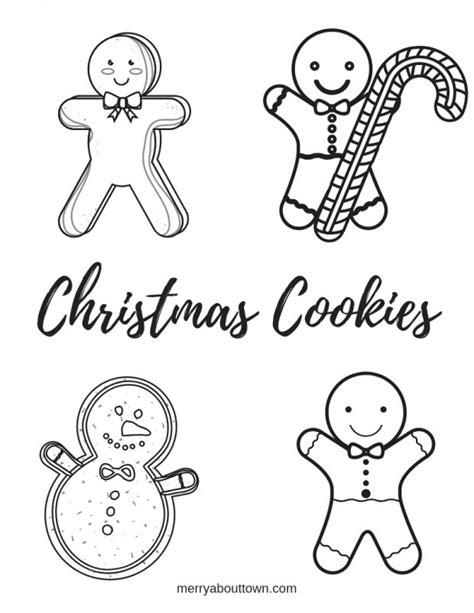 Free printable christmas coloring pages. Christmas Printables: Cookies Wordsearch & Coloring Sheet ...