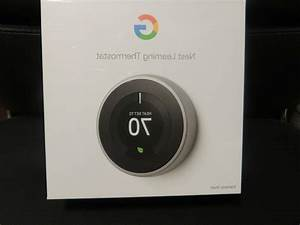 Google Nest T3007es 3rd Generation Nest Learning Thermost