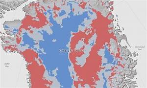 NASA maps thawed areas under Greenland ice sheet