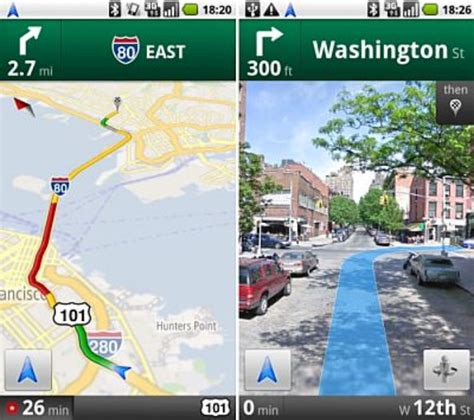 google maps navigation   dedicated gps device