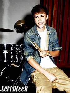 Justin Bieber Seventeen Magazine Photoshoot Pictures May 2012