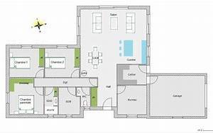 plan de maison plain pied gratuit 5 chambres ventana blog With plan maison 5 chambres plain pied