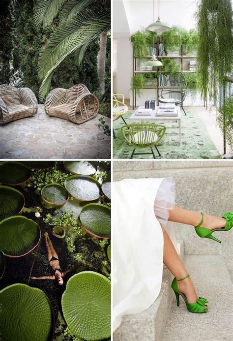 color of the year 2017 pantone greenery in action
