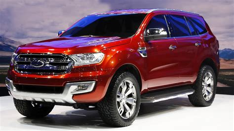 Ford Everest Concept Reveal Youtube