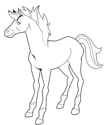 coloriage horseland les beaux dessins de dessin anime  imprimer  colorier page