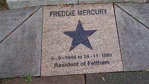 Freddie Mercury Memorial, Feltham, England - YouTube