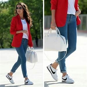 Como combinar tenis | Outfits | Pinterest | Nike cortez Cortez shoes and Boyish style