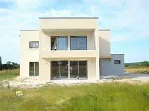 maison contemporaine facade With facade de maison contemporaine