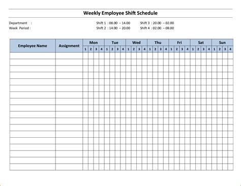 week schedule template teknoswitch