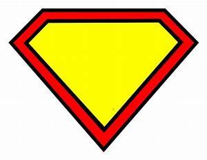 Superman Symbol Outline - ClipArt Best